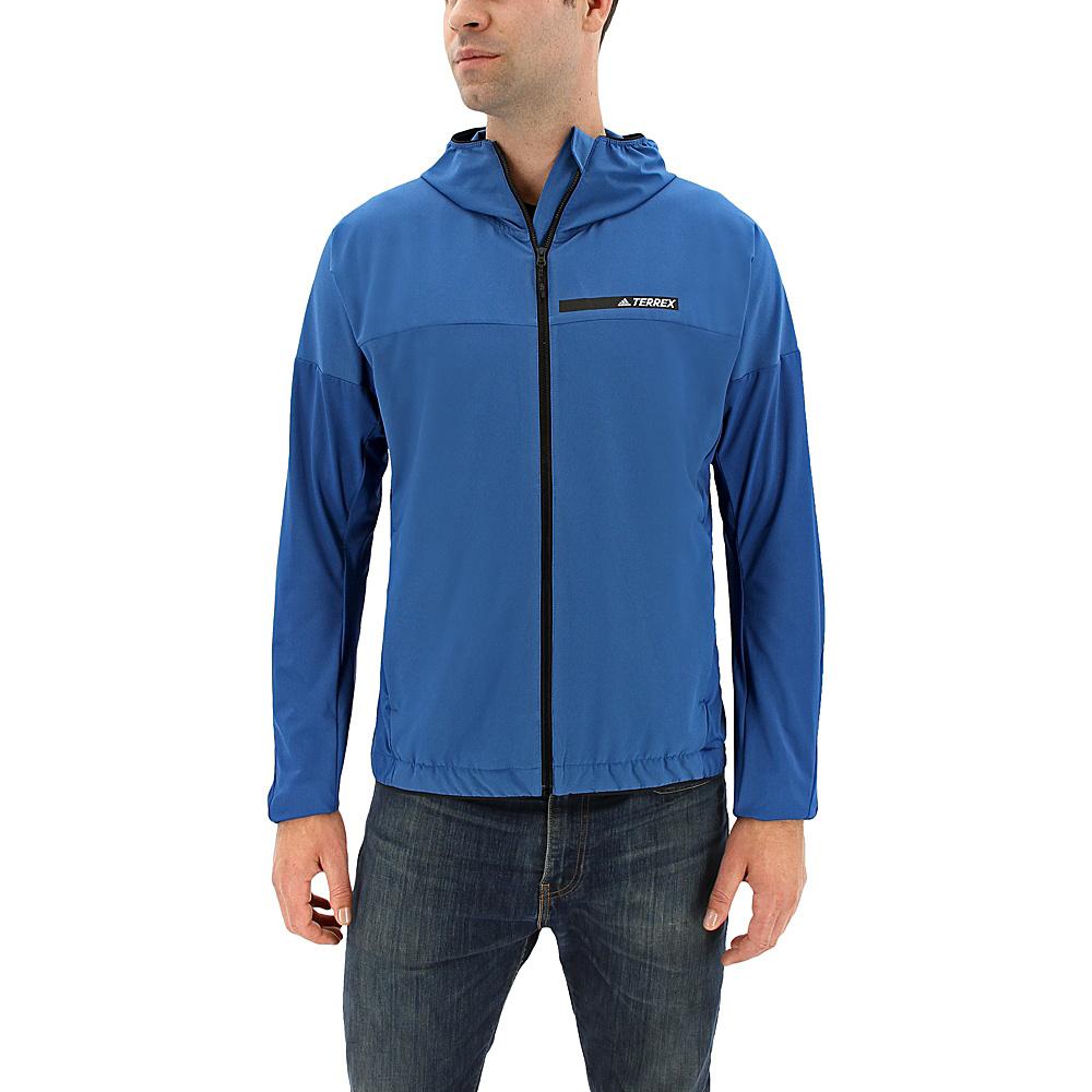 adidas outdoor Mens Voyager Jacket L - Core Blue - adidas outdoor Mens Apparel - Apparel & Footwear, Men's Apparel