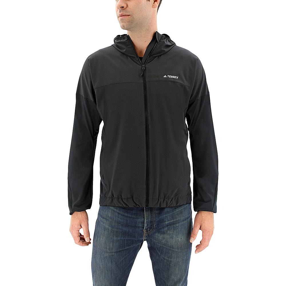 adidas outdoor Mens Voyager Jacket L - Utility Black - adidas outdoor Mens Apparel - Apparel & Footwear, Men's Apparel