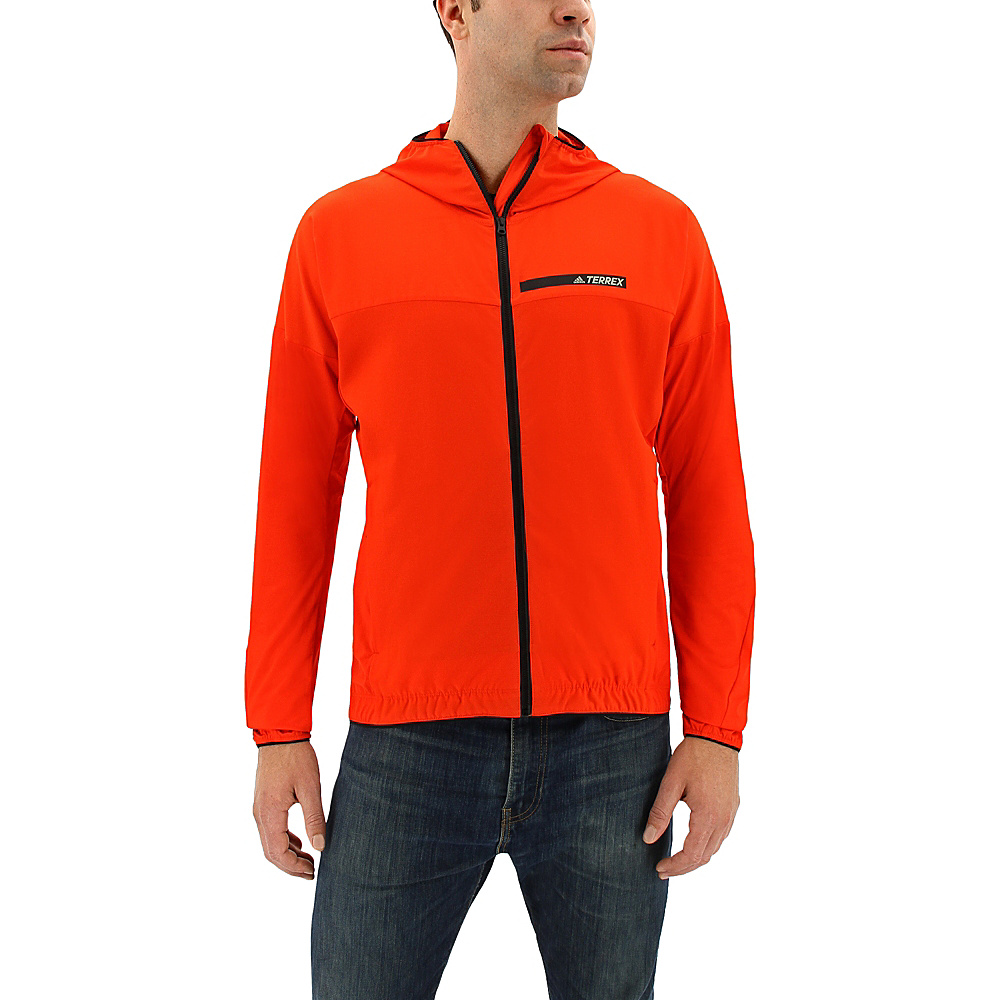 adidas outdoor Mens Voyager Jacket M - Energy - adidas outdoor Mens Apparel - Apparel & Footwear, Men's Apparel