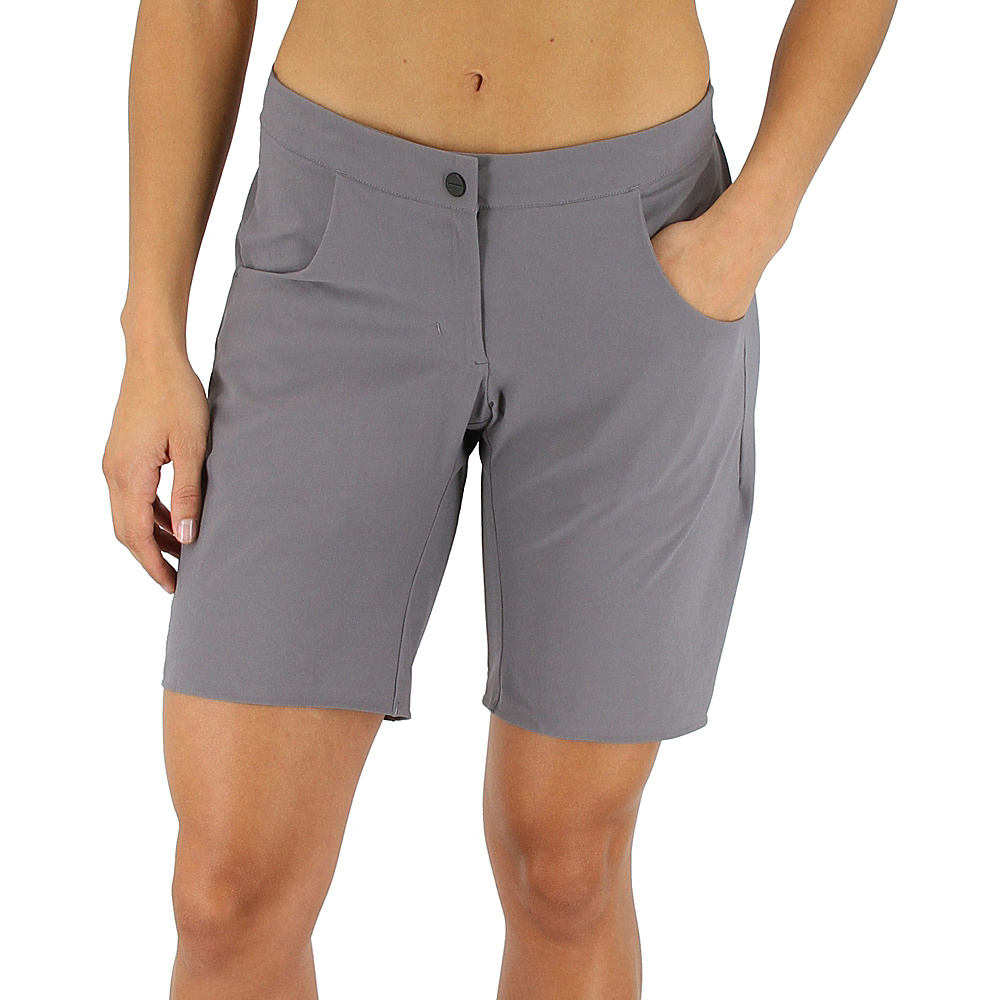 adidas outdoor Womens Terrex Solo Short S - Trace Grey - adidas outdoor Womens Apparel - Apparel & Footwear, Women's Apparel
