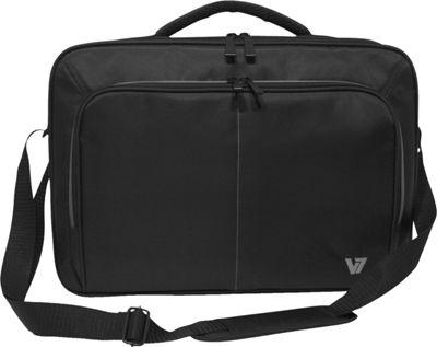 V7 16 inch Vantage 2 Front-Load Laptop Case Black - V7 Non-Wheeled Business Cases