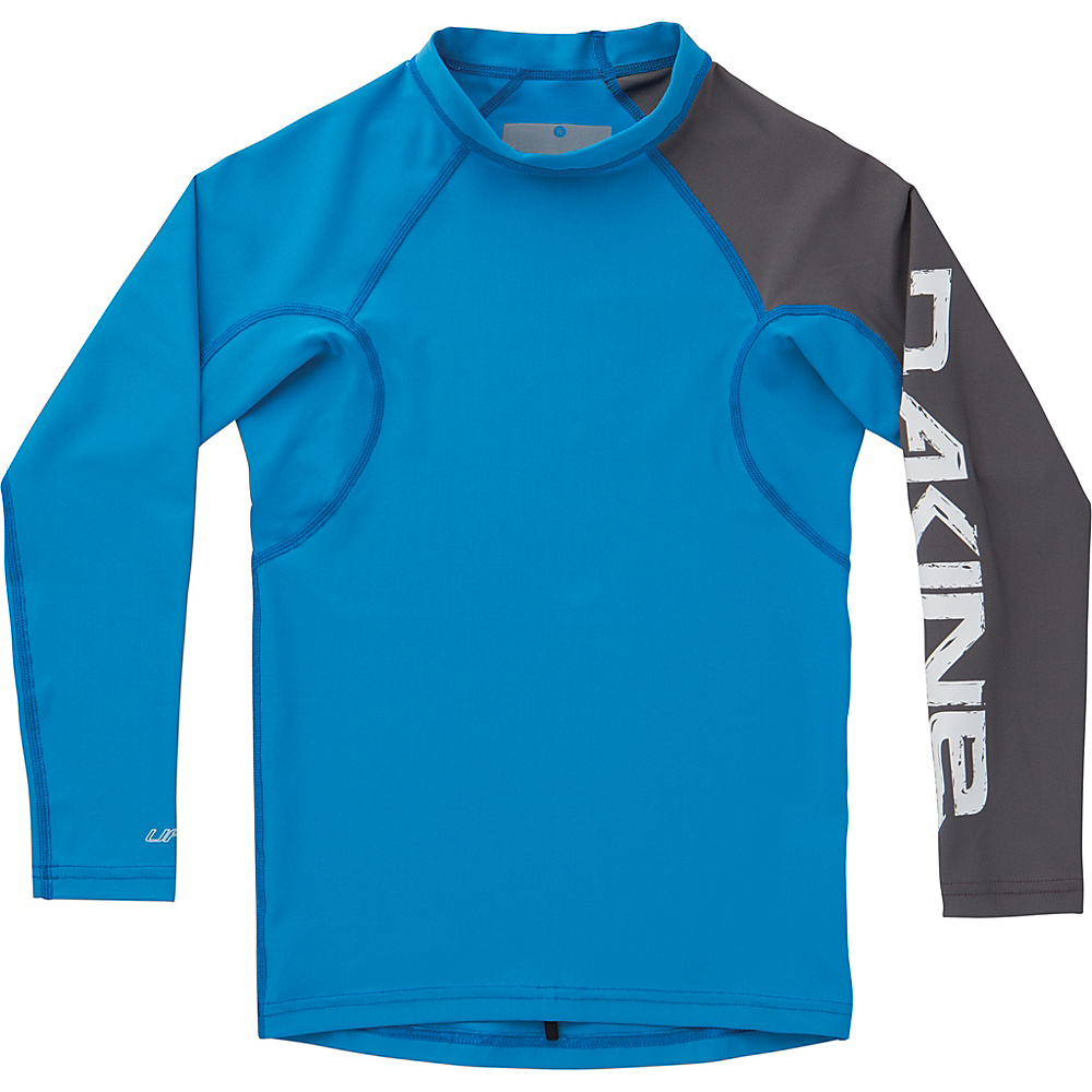 DAKINE Boys Heavy Duty Snug Fit Long Sleeve 10 - Tabor Blue - DAKINE Womens Apparel - Apparel & Footwear, Women's Apparel