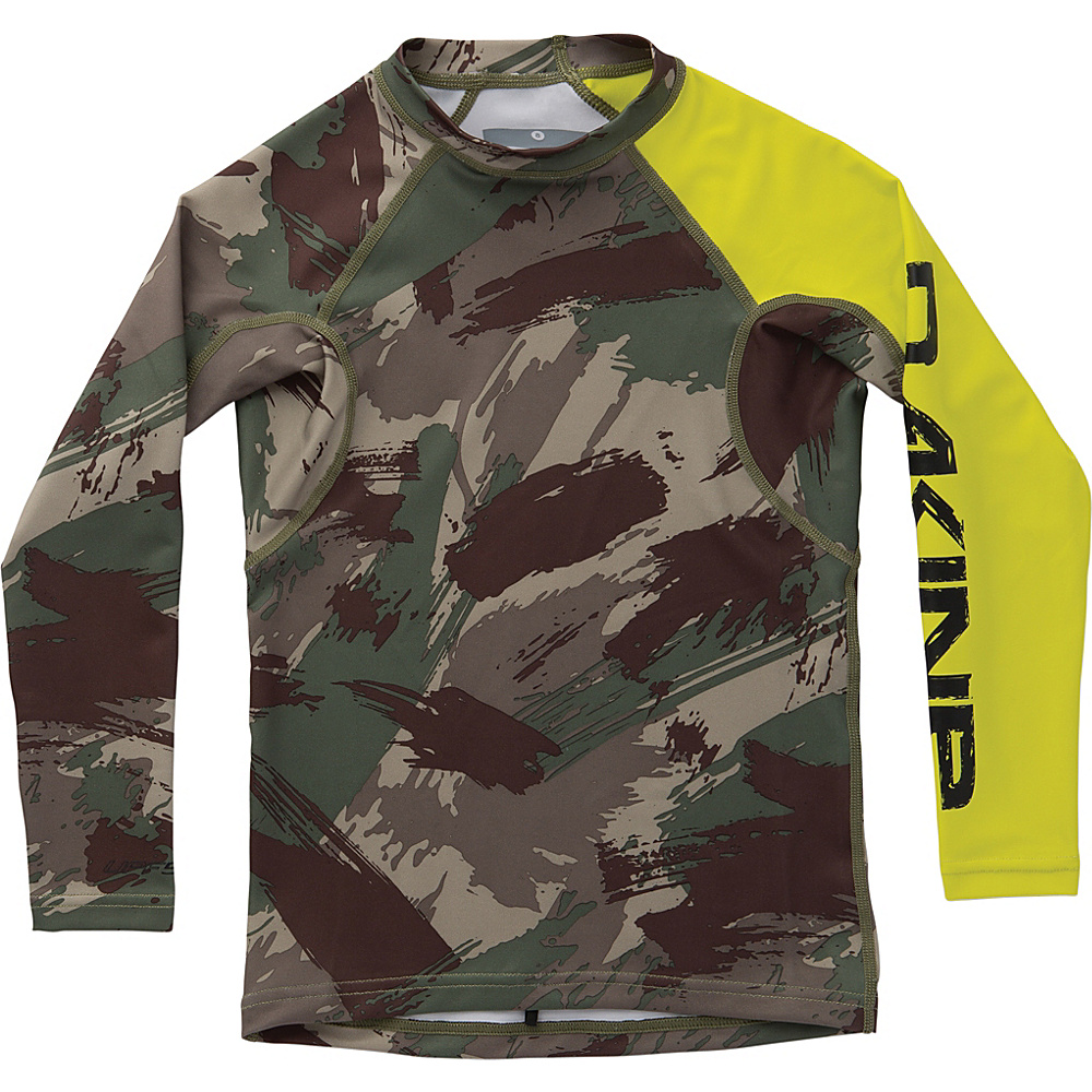 DAKINE Boys Heavy Duty Snug Fit Long Sleeve 6 - Camo - DAKINE Womens Apparel - Apparel & Footwear, Women's Apparel