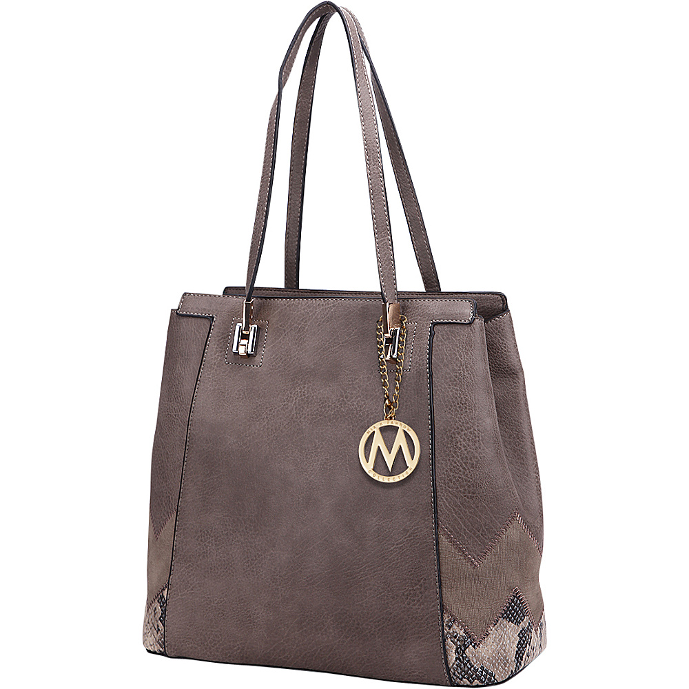 MKF Collection by Mia K. Farrow Katherine Tote Khaki - MKF Collection by Mia K. Farrow Manmade Handbags - Handbags, Manmade Handbags