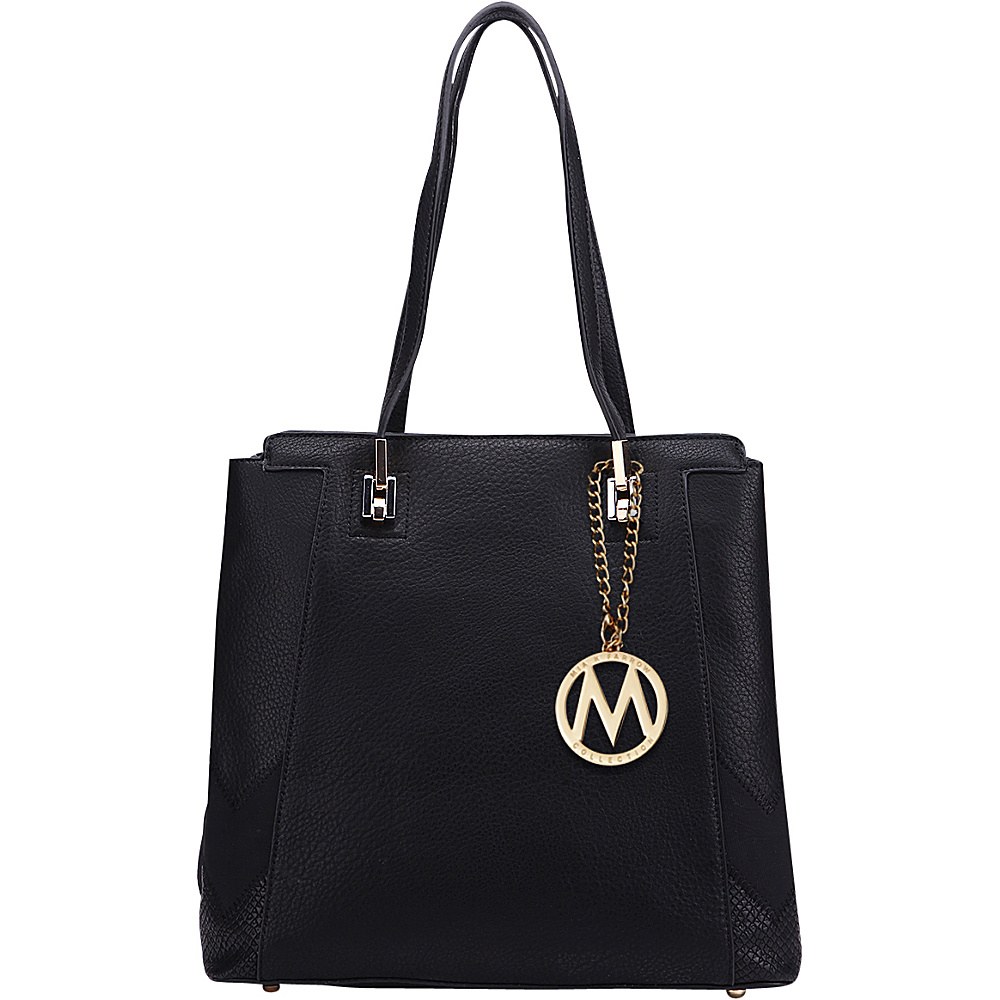 MKF Collection by Mia K. Farrow Katherine Tote Black - MKF Collection by Mia K. Farrow Manmade Handbags - Handbags, Manmade Handbags