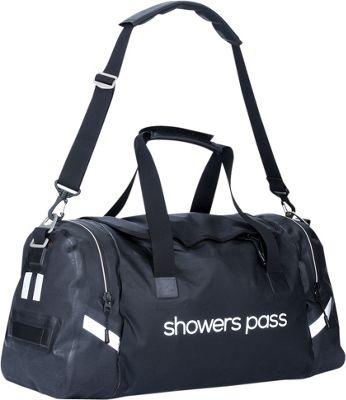 Showers Pass Refuge Waterproof Duffel Bag White/Black - Showers Pass Travel Duffels