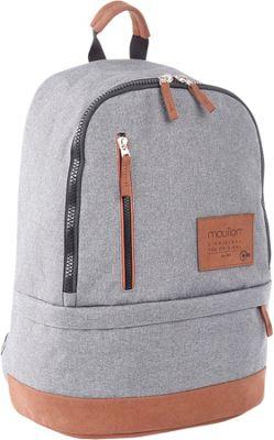 Bugatti Wander Backpack Shadow Grey - Bugatti Laptop Backpacks