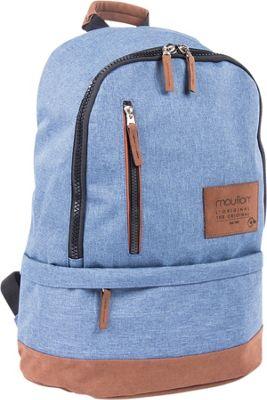 Bugatti Wander Backpack Indigo Blue - Bugatti Laptop Backpacks