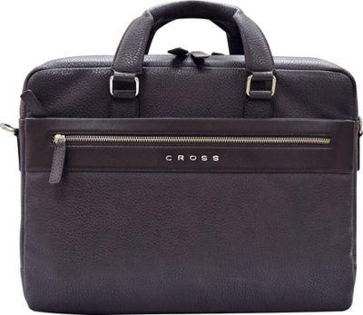 Cross Men's Nueva FV Leather Weekender Bag Oak Brown - Cross Luggage Accessories