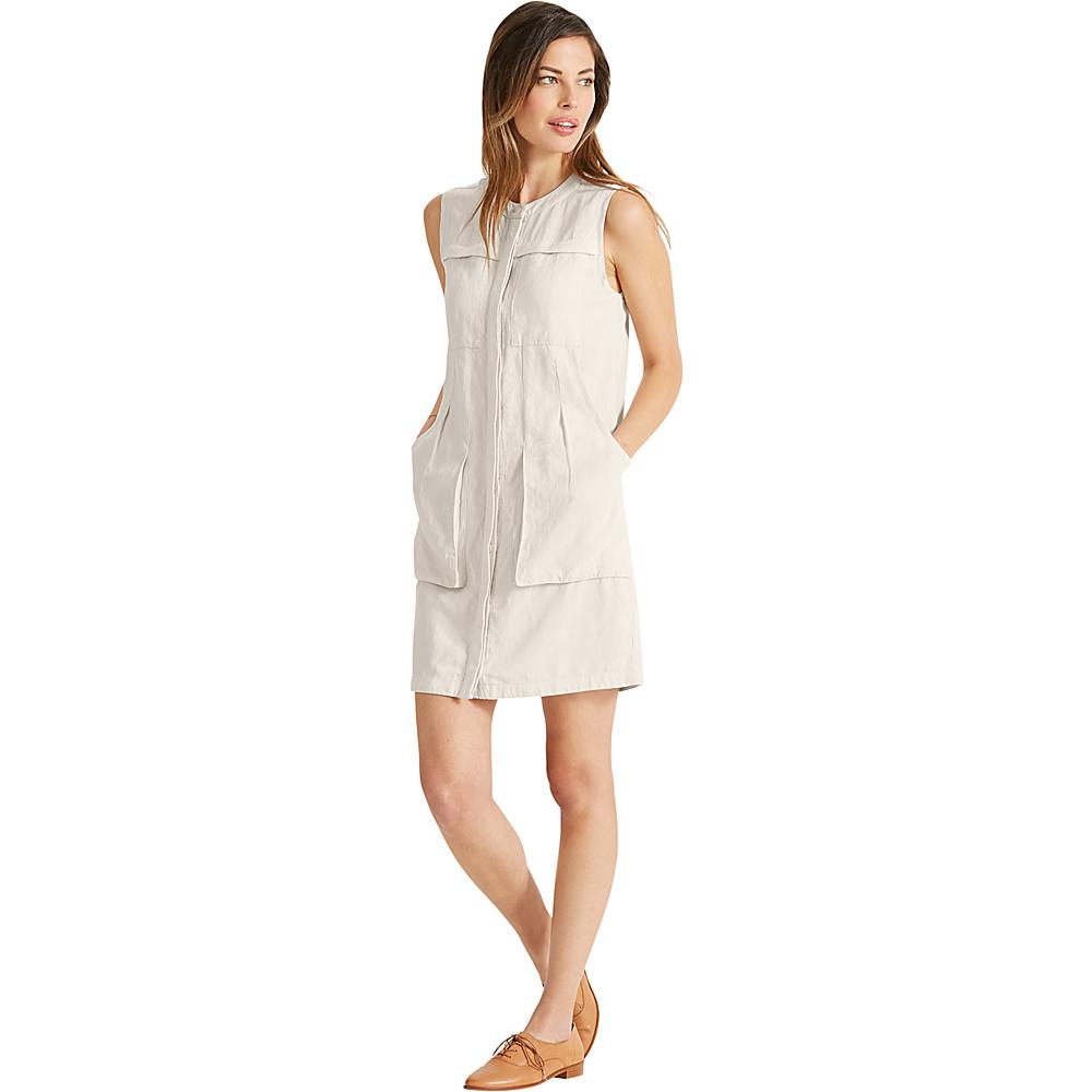 NAU Clothing Womens Flaxbile Sleeveless Dress XL - Bone - NAU Clothing Womens Apparel - Apparel & Footwear, Women's Apparel