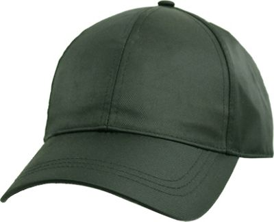FITS Satin Baseball Cap One Size - Olive - FITS Hats