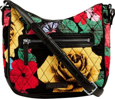 Vera Bradley Mini Vivian Crossbody - Retired Prints Havana Rose - Vera Bradley Fabric Handbags