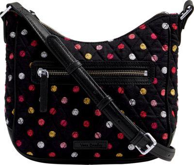 Vera Bradley Mini Vivian Crossbody - Retired Prints Havana Dots - Vera Bradley Fabric Handbags