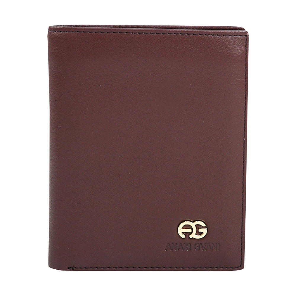 Dasein Mens Genuine Smooth Leather Wallet Brown - Dasein Mens Wallets - Work Bags & Briefcases, Men's Wallets