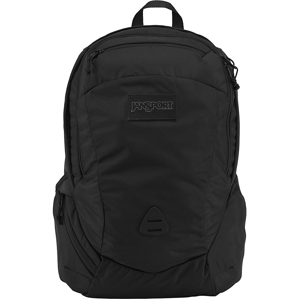 JanSport Wynwood Laptop Backpack Black Ballistic Nylon - JanSport Laptop Backpacks