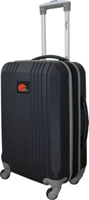 Mojo Licensing Mojo Licensing 21 inch Carry-On Hardcase 2-Tone Spinner Cleveland Browns - Mojo Licensing Hardside Carry-On