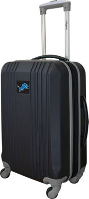 Mojo Licensing Mojo Licensing 21 inch Carry-On Hardcase 2-Tone Spinner Detroit Lions - Mojo Licensing Hardside Carry-On