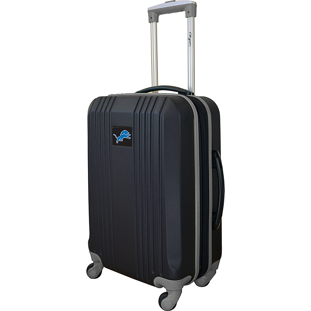 MOJO Denco 21 Carry-On Hardcase 2-Tone Spinner Detroit Lions - MOJO Denco Hardside Carry-On - Luggage, Hardside Carry-On