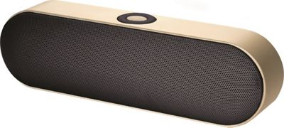 B iconic Smooth Bluetooth Speaker Gold - B iconic Headphones & Speakers