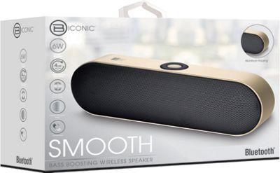B iconic Smooth Bluetooth Speaker Gold - B iconic Headphones & Speakers