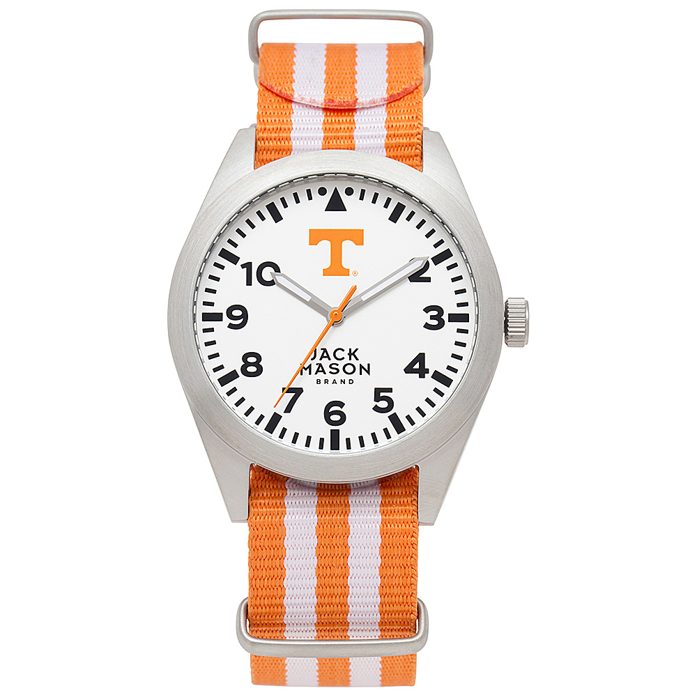 Jack Mason League NCAA Striped Nato Watch Tennessee Volunteers - Jack Mason League Watches - Fashion Accessories, Watches