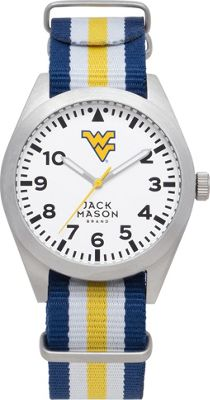 Jack Mason League NCAA Striped Nato Watch West Virginia Mountaineers - Jack Mason League Watches