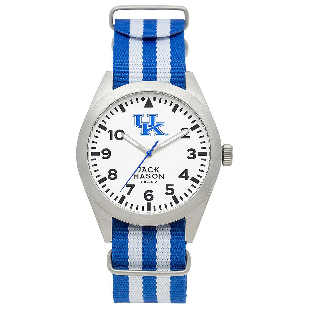 Jack Mason League NCAA Striped Nato Watch Kentucky Wildcats - Jack Mason League Watches - Fashion Accessories, Watches