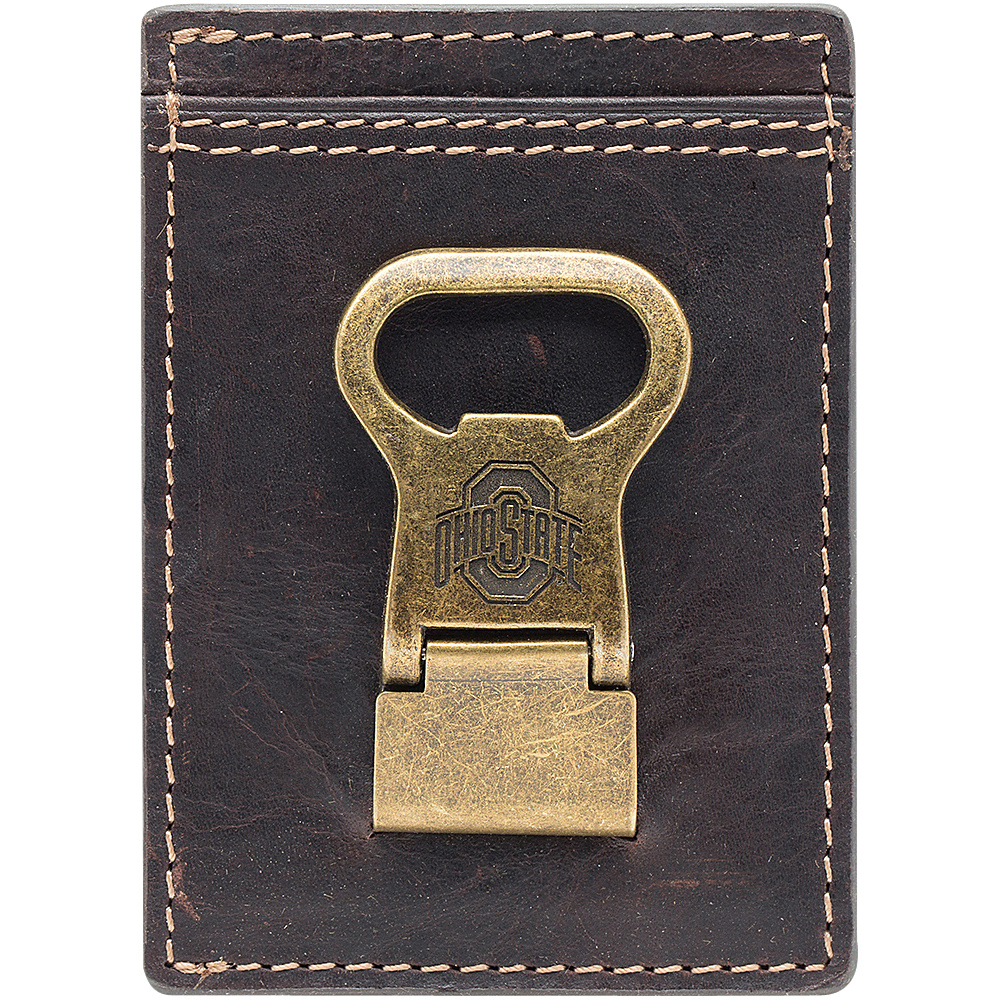 Jack Mason League NCAA Gridiron Front Pocket Wallet Ohio State Buckeyes - Jack Mason League Mens Wallets - Work Bags & Briefcases, Men's Wallets