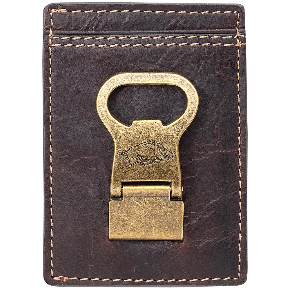 Jack Mason League NCAA Gridiron Front Pocket Wallet Arkansas Razorbacks - Jack Mason League Mens Wallets - Work Bags & Briefcases, Men's Wallets
