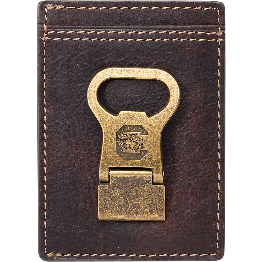 Jack Mason League NCAA Gridiron Front Pocket Wallet South Carolina Gamecocks - Jack Mason League Mens Wallets - Work Bags & Briefcases, Men's Wallets