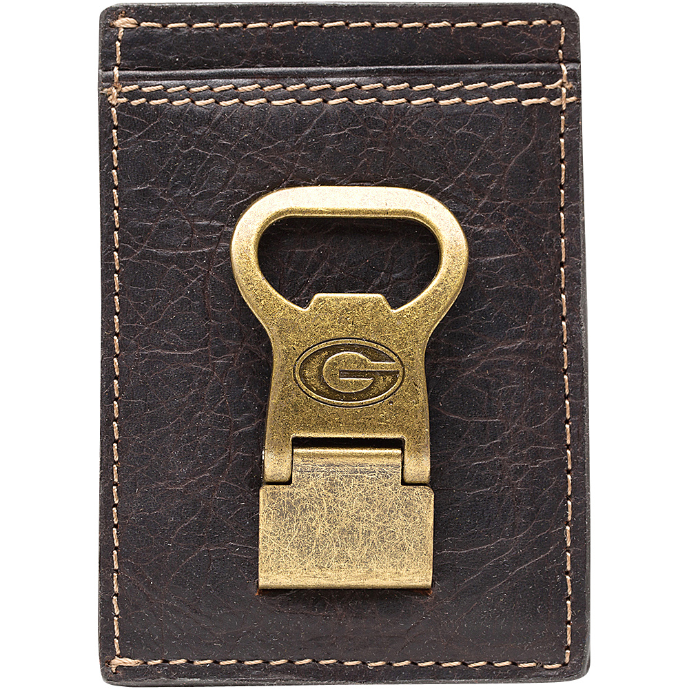Jack Mason League NCAA Gridiron Front Pocket Wallet Georgia Bulldogs - Jack Mason League Mens Wallets - Work Bags & Briefcases, Men's Wallets