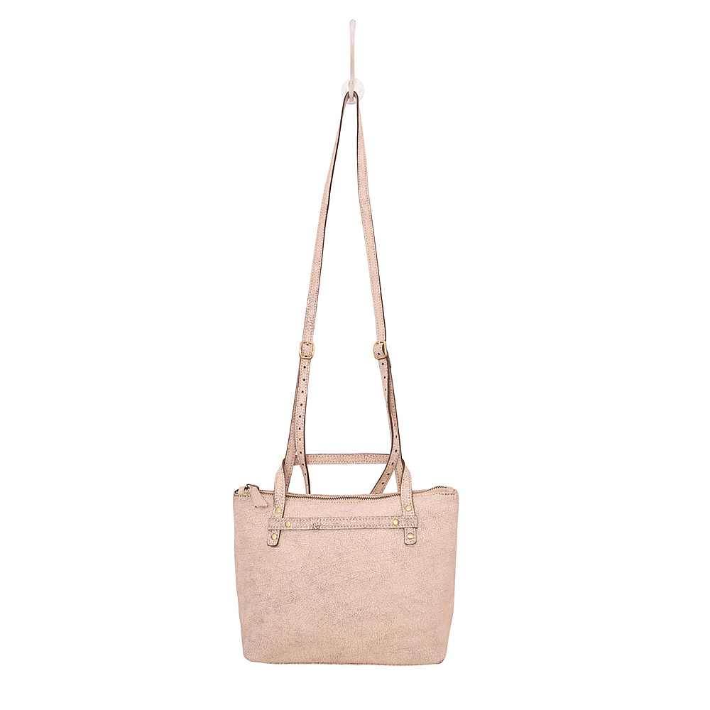 Latico Leathers Marlena Crossbody Crackle White - Latico Leathers Leather Handbags - Handbags, Leather Handbags