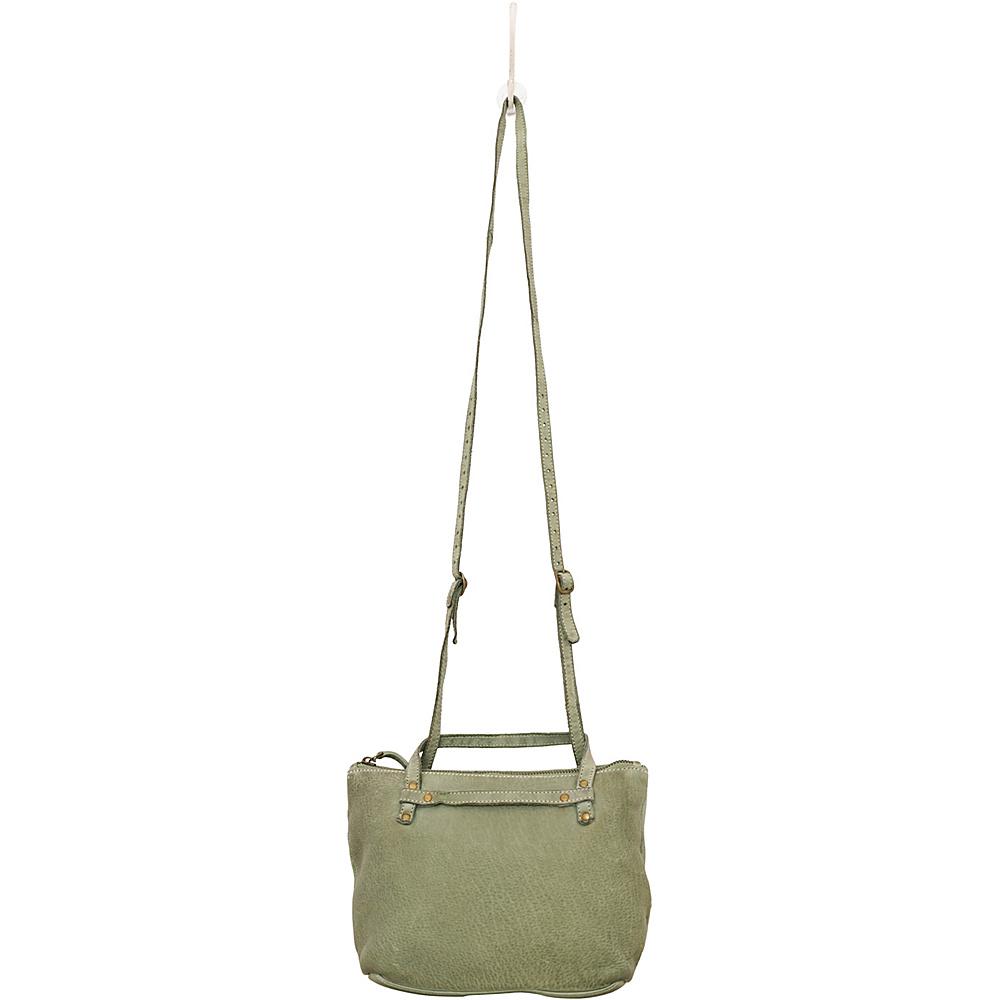 Latico Leathers Marlena Crossbody Washed Green - Latico Leathers Leather Handbags - Handbags, Leather Handbags