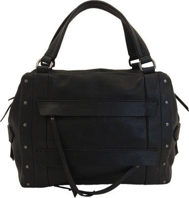 Joelle Hawkens by treesje Adora Satchel Black - Joelle Hawkens by treesje Leather Handbags