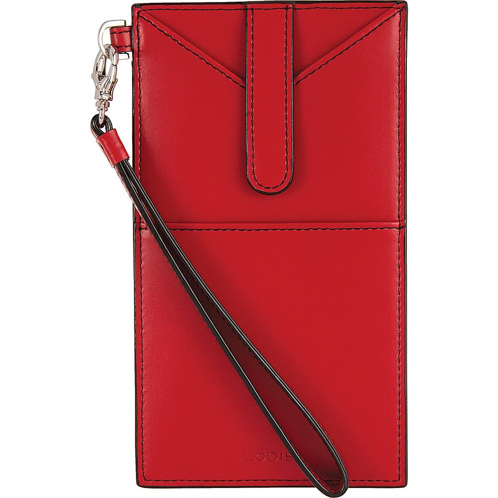 Lodis Audrey Ingrid Phone Wallet Red - Lodis Womens Wallets - Women's SLG, Women's Wallets