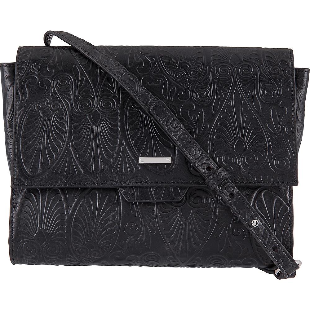 Lodis Denia Octavia Crossbody Black - Lodis Leather Handbags - Handbags, Leather Handbags