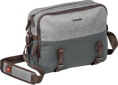 Manfrotto Bags Reporter Messenger Grey - Manfrotto Bags Camera Cases