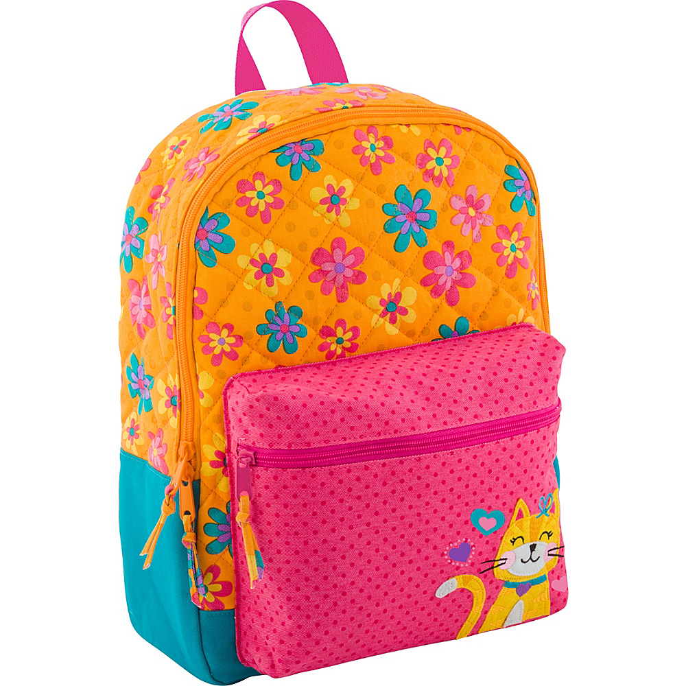 Stephen Joseph All Over Print Quilted Rucksack Cat - Stephen Joseph Kids Backpacks - Backpacks, Kids' Backpacks