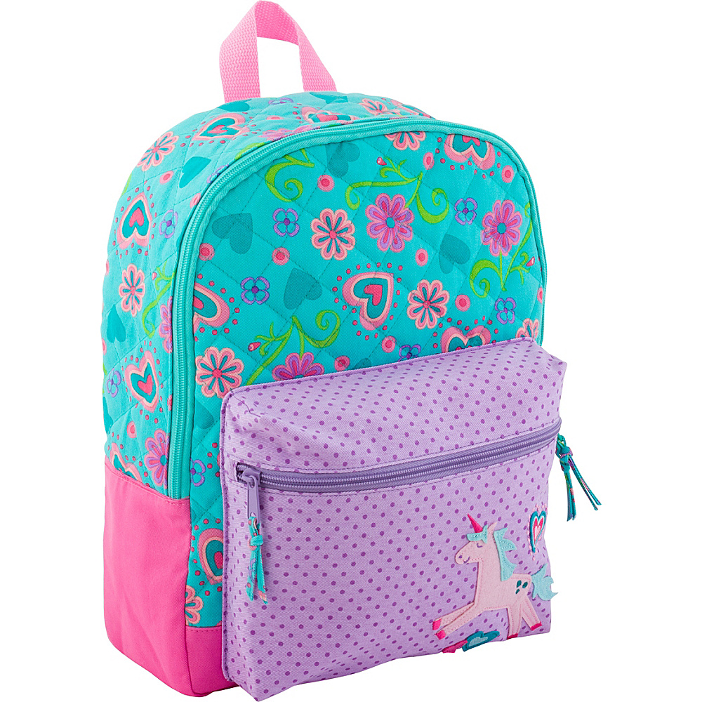 Stephen Joseph All Over Print Quilted Rucksack Unicorn - Stephen Joseph Kids Backpacks - Backpacks, Kids' Backpacks
