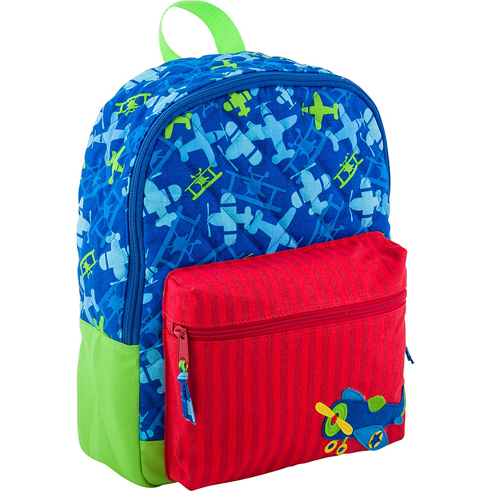 Stephen Joseph All Over Print Quilted Rucksack Airplane - Stephen Joseph Kids Backpacks - Backpacks, Kids' Backpacks