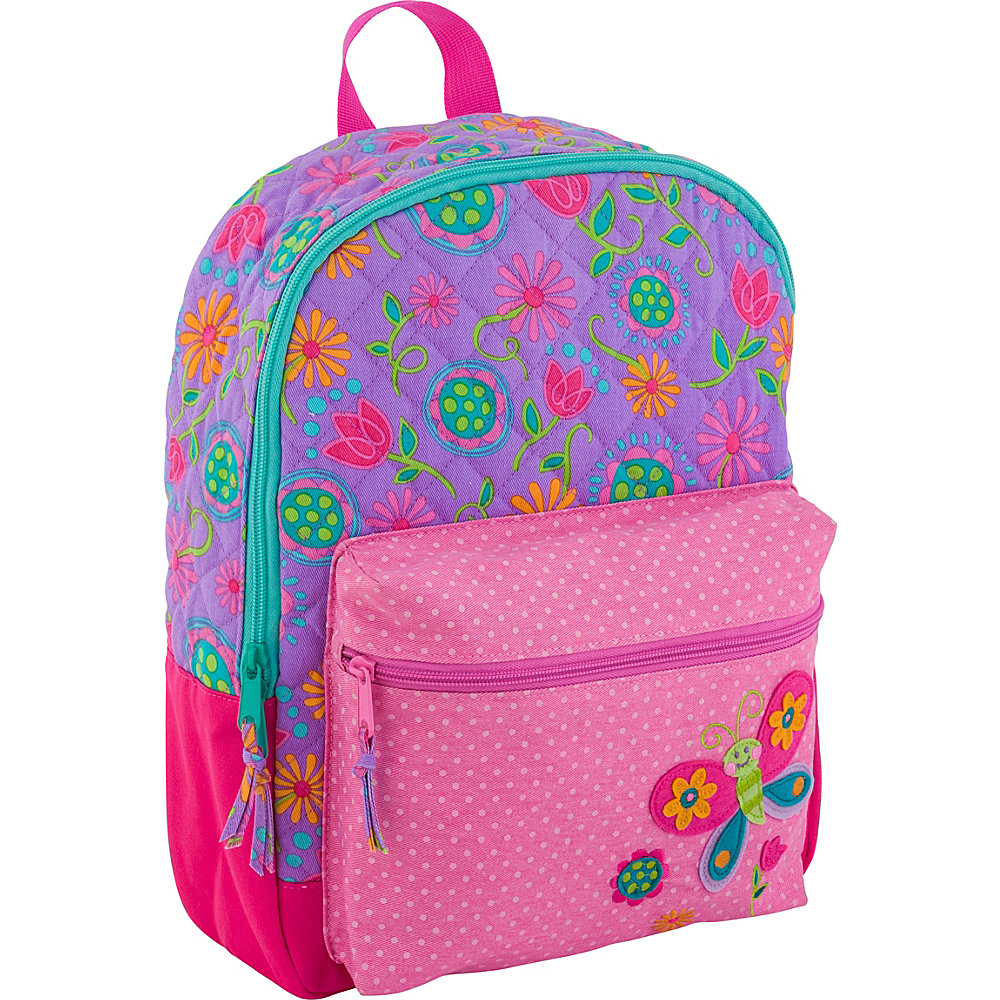 Stephen Joseph All Over Print Quilted Rucksack Butterfly - Stephen Joseph Kids Backpacks - Backpacks, Kids' Backpacks