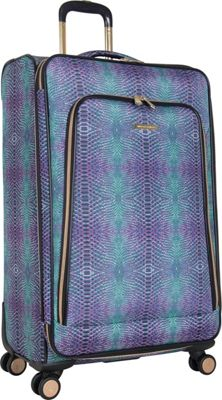 Aimee Kestenberg Sydney 28 inch Expandable Spinner Marine Python - Aimee Kestenberg Large Rolling Luggage