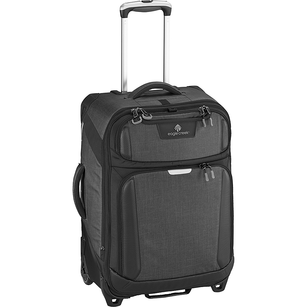 Eagle Creek Tarmac 26 Upright Asphalt Black - Eagle Creek Softside Checked - Luggage, Softside Checked