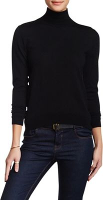Rolo & Ale Devi Wool Turtleneck Sweater S - Black - Rolo & Ale Women's Apparel