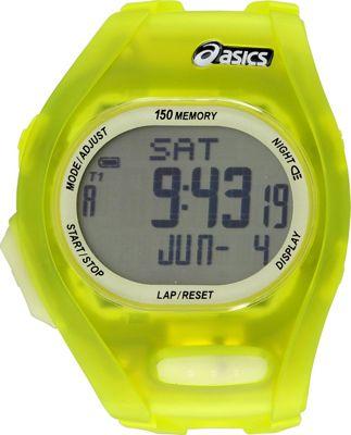 Asics Night Run Watch Yellow - Asics Wearable Technology
