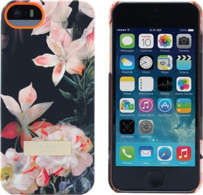 Ted Baker iPhone 5/5S SE Hard Shell Case Salso - Ted Baker Electronic Cases
