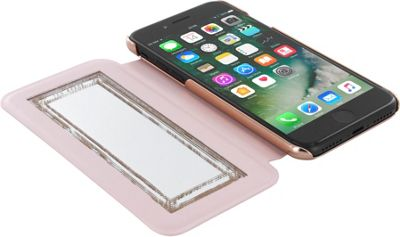 Ted Baker iPhone 6 & 7 Plus Kadia Folio Case Pale Apricot - Ted Baker Electronic Cases