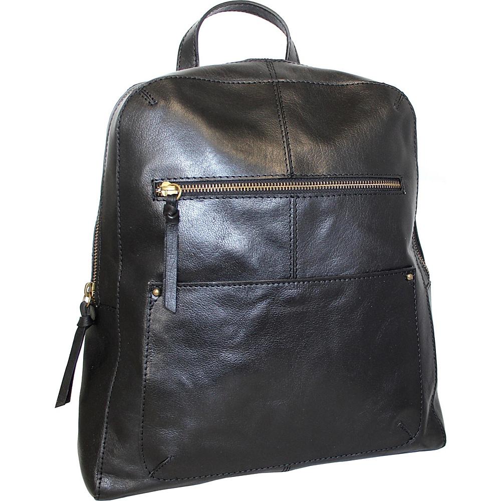 Nino Bossi Raven Backpack Black - Nino Bossi Leather Handbags - Handbags, Leather Handbags