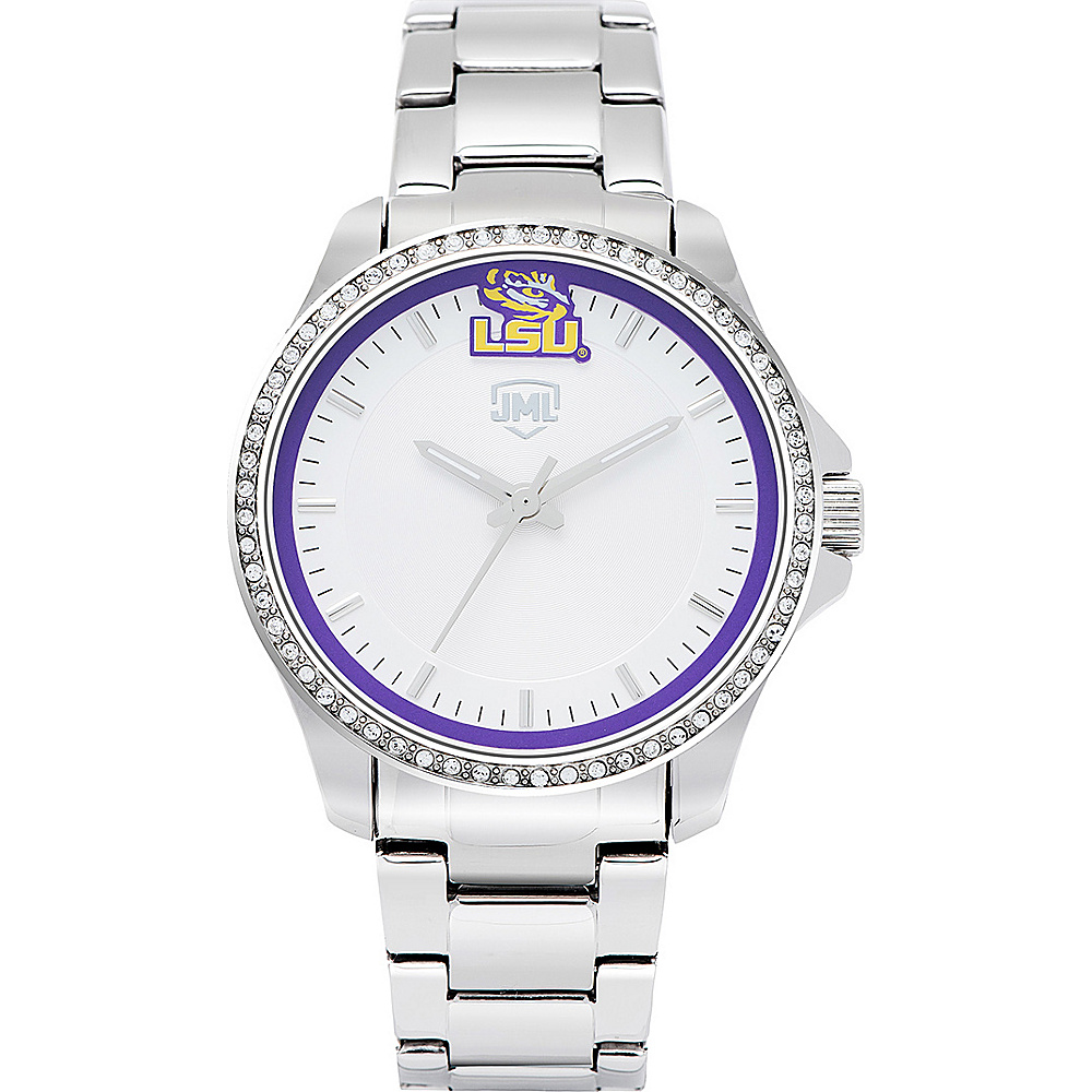 Jack Mason League Womens NCAA Glitz Sport Watch LSU - Jack Mason League Watches - Fashion Accessories, Watches