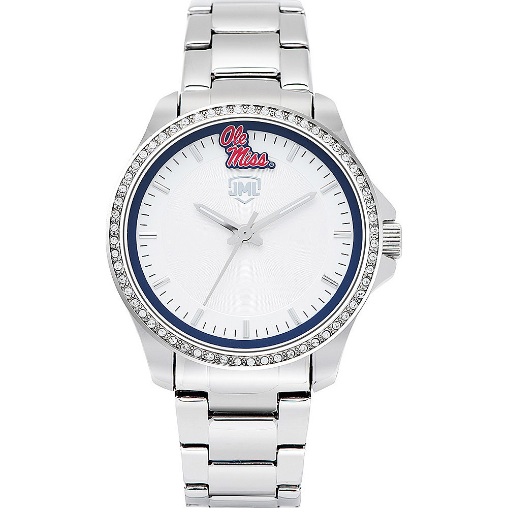 Jack Mason League Womens NCAA Glitz Sport Watch Ole Miss - Jack Mason League Watches - Fashion Accessories, Watches